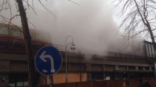 Φωτιά σε στάθμό στο Βερολίνο προκάλεσε αναστάτωση (pics&vid)