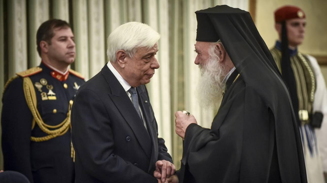 Παυλόπουλος σε Ιερώνυμο: Χίλια ευχαριστώ για την αποστολή της Εκκλησίας