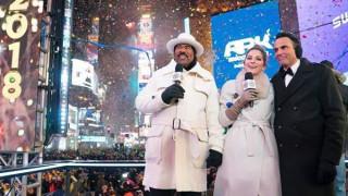 Η Μαρία Μενούνος παντρεύτηκε σε ζωντανή σύνδεση στην Times Square (vids)
