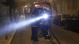 Πυρκαγιά σε πάρκινγκ στην περιοχή του Καματερού