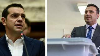 Αισιοδοξία από Τσίπρα και Ζάεφ για την επίλυση του ονοματολογικού
