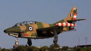 Τι λέει το υπουργείο για την πτώση του αεροσκάφους της Πολεμικής Αεροπορίας