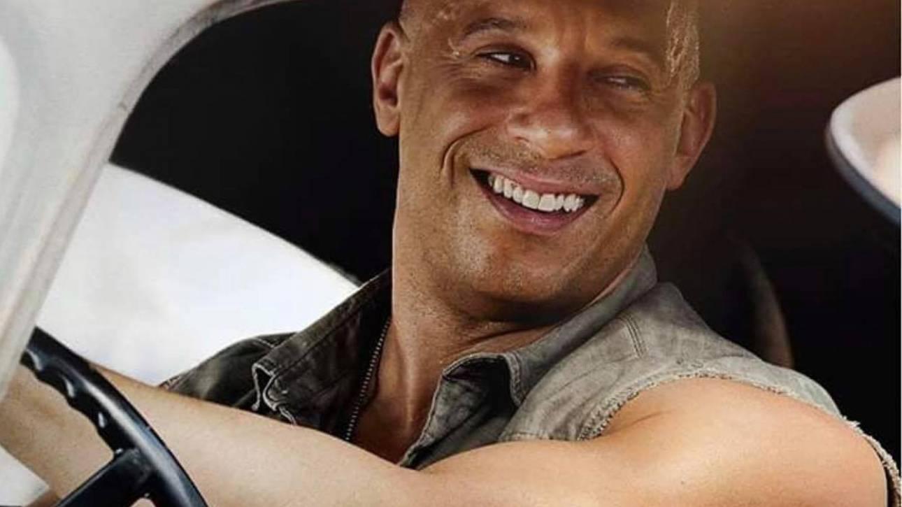 Βιν Ντίζελ: με την ταχύτητα του Fast and the Furious ο πιο εμπορικός ηθοποιός της χρονιάς