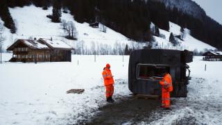 Ελβετία: Εκτροχιάστηκε τρένο λόγω της πρωτοφανούς κακοκαιρίας