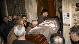 Το «τελευταίο αντίο» στον Ευγένιο Γκέραρντ (pics)