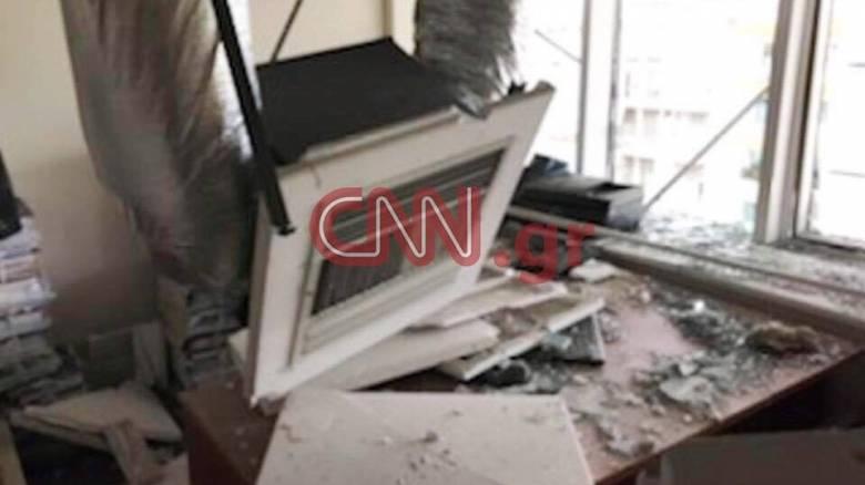 Οι πρώτες εικόνες από το εσωτερικό του Εφετείου μετά την έκρηξη βόμβας