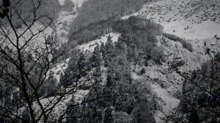 Στα λευκά ντύθηκε η δυτική Μακεδονία (pics&vids)