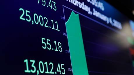 Ο Dow Jones ξεπέρασε για πρώτη φορά τις 25.000 μονάδες