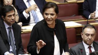 Μπακογιάννη: Η ενιαία θέση της κυβέρνησης είναι προϋπόθεση για την επίλυση Σκοπιανού