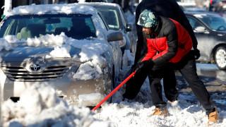 ΗΠΑ: Μετά το χιόνι, το τσουχτερό κρύο σαρώνει το βορειονατολικό τμήμα της χώρας
