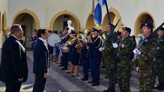 Μήνυμα συνεργασίας, ειρήνης και φιλίας έστειλε ο Τσίπρας από την Κάλυμνο