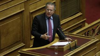 Κουμουτσάκος για πΓΔΜ: Η ΝΔ ως κυβέρνηση έπραξε το καθήκον της στο Βουκουρέστι