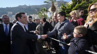 Στην Ψέριμο μετέβη με στρατιωτικό ελικόπτερο ο Αλέξης Τσίπρας (pics)