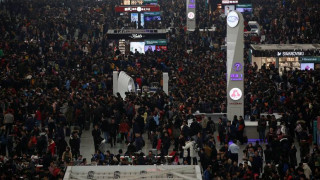 Κίνα: Σχεδόν 3 δισεκατομμύρια μετακινήσεις για την Πρωτοχρονιά