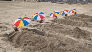 Η άμμος στις ηφαιστειογενείς ακρογιαλιές της Ιαπωνίας είναι θαυματουργή