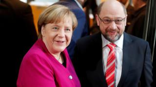«Άνεμος» αισιοδοξίας στη Γερμανία για τον σχηματισμό κυβέρνησης