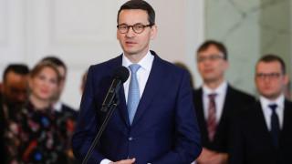 Ο Πολωνός πρωθυπουργός ελπίζει να αποκλιμακωθούν οι εντάσεις με τις Βρυξέλλες