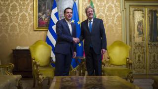 Τσίπρας σε Τζεντιλόνι: Στην Ελλάδα πάμε όλο και καλύτερα