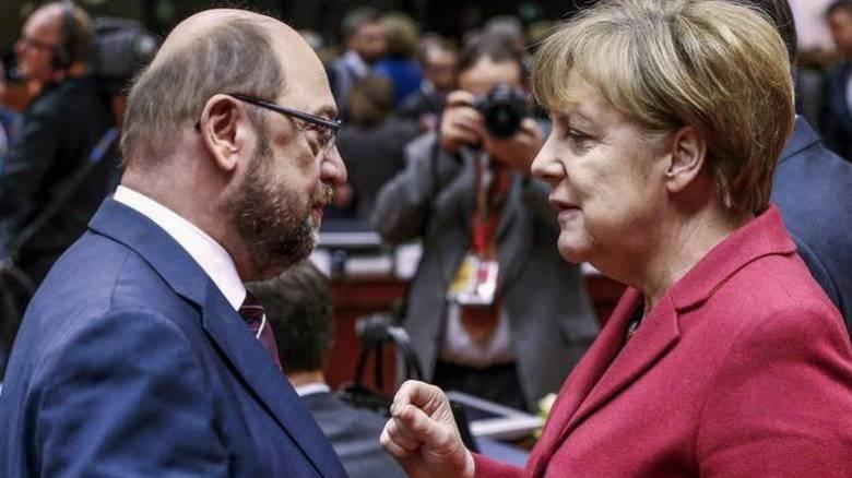 Γερμανία: Το τελευταίο τους χαρτί παίζουν Μέρκελ και Σουλτς για τον σχηματισμό κυβέρνησης