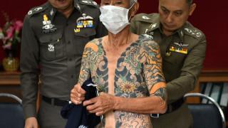 Τον πρόδωσαν τα τατουάζ – Συνελήφθη ηγετικό μέλος της Γιακούζα (pics)