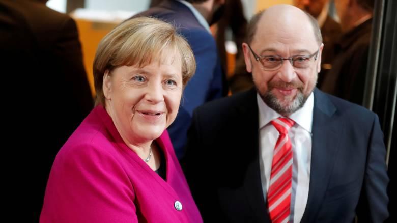 Γερμανία: Συμφωνία για «μεγάλο συνασπισμό»