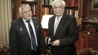 «Μαζί με σας, η Ελλάδα είναι και στο διάστημα»: Στο Προεδρικό Μέγαρο ο Γιουρτσίχιν-Γραμματικόπουλος