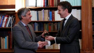 Αλλαγή σκυτάλης στο Eurogroup: Ο Ντάισελμπλουμ παρέδωσε την προεδρία στον Σεντένο