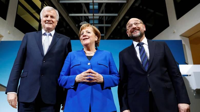 Γερμανία: Αυτά είναι τα κυριότερα σημεία της συμφωνίας Μέρκελ - Σουλτς - Ζεεχόφερ