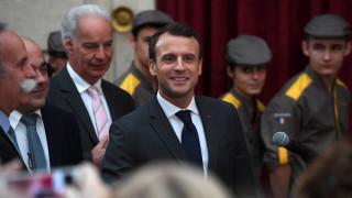«Χαρούμενος και ικανοποιημένος» δηλώνει ο Μακρόν για τις εξελίξεις στη Γερμανία