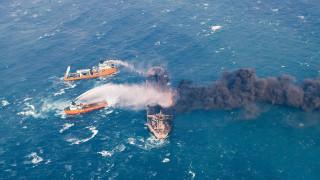 Κίνα: Διασώστες περισυνέλλεξαν δύο πτώματα από το φλεγόμενο ιρανικό δεξαμενόπλοιο