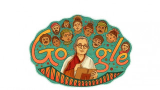 Mahasweta Devi: Στην Ινδή συγγραφέα αφιερωμένο το Doodle της Google