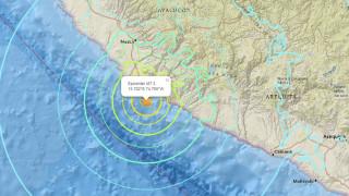 Ισχυρός σεισμός στις ακτές του Περού