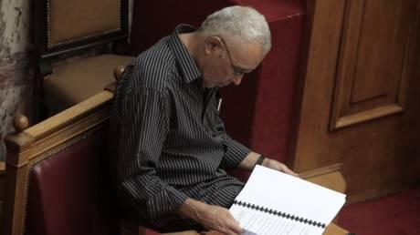 Η επιστολή παραίτησης του Κώστα Ζουράρι στον πρωθυπουργό
