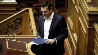 Τσίπρας: Η χώρα είναι μια ανάσα από το οριστικό τέλος των μνημονίων