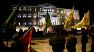 Συλλαλητήρια στο Σύνταγμα κατά του πολυνομοσχεδίου (pics)