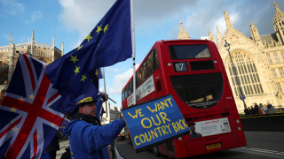 Διαδήλωση κατά του Brexit στο Λονδίνο (pics)