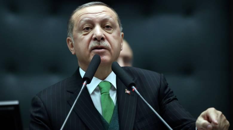 Ερντογάν: Θα λάβουμε όλα τα προληπτικά μέτρα για τη θωράκιση της εθνικής ασφάλειας