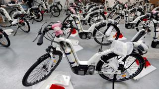 Άρχισε η μαζική παραγωγή ποδηλάτων που κινούνται με υδρογόνο