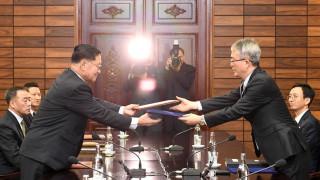 Με κοινή σημαία στους Χειμερινούς Ολυμπιακούς Βόρεια και Νότια Κορέα