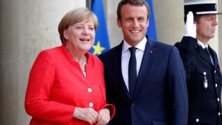Μακρόν και Μέρκελ συζητούν την Παρασκευή για το μέλλον της Ευρώπης
