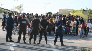 Λάρισα: Συμπλοκή μεταξύ προσφύγων στο Κουτσόχερο – Ένας τραυματίας