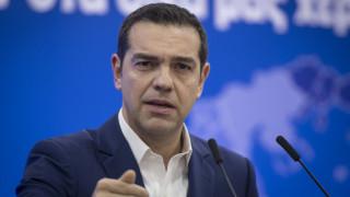 Την ανάγκη να δημιουργηθεί κοινωνική και πολιτική συναίνεση για το Σκοπιανό υπογράμμισε ο Τσίπρας