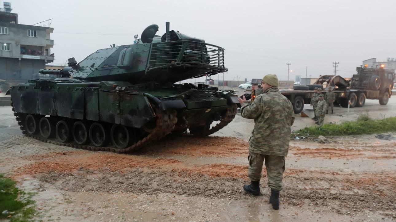 Άγκυρα: Δεν θα επιτρέψουμε το σχηματισμό «τρομοκρατικού στρατού» στα σύνορά μας