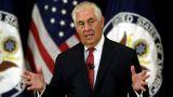 Τίλερσον: Ο στρατός των ΗΠΑ θα παραμείνει στη Συρία για να αντιμετωπίσει τις απειλές στην περιοχή