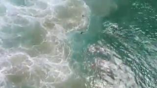 Παγκόσμια πρωτιά στην Αυστραλία: Drone έσωσε κολυμβητές που κινδύνευαν