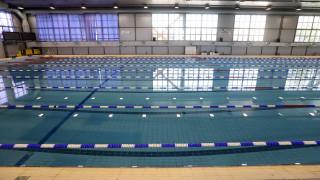 Ζημιές στο κολυμβητήριο των Χανίων λόγω των ισχυρών ανέμων (pics)