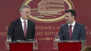Στόλτενμπεργκ σε πΓΔΜ: Δεν υπάρχει plan B για είσοδο στο ΝΑΤΟ, πρέπει να λυθεί το ονοματολογικό