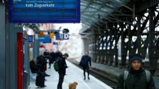 Γερμανία: Διακοπή κυκλοφορίας των τρένων σε όλη τη χώρα εξαιτίας της «Φρειδερίκης»