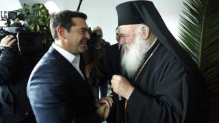 Συνάντηση Τσίπρα - Ιερώνυμου για το Σκοπιανό