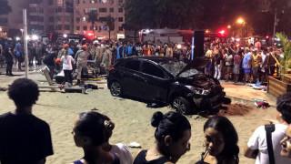 Βραζιλία: Αυτοκίνητο παρέσυρε πεζούς στην Κόπα Καμπάνα - Νεκρό βρέφος και δεκάδες τραυματίες